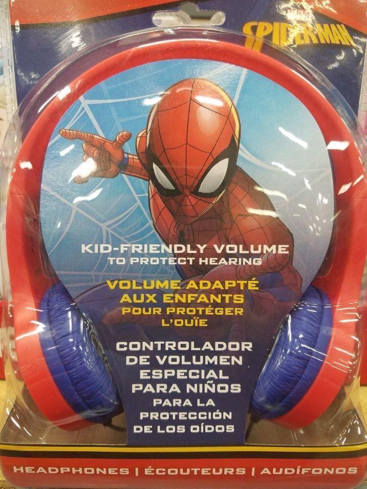 MARVEL SPIDERMAN - Childrens Audio Headphones - SHIPS FREE!