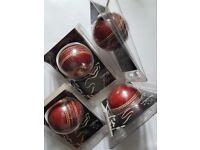 Genuine, Brand New, Reader's Cricket Balls, x4