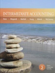 Intermediate Accounting 10th Canadian Edition Volume 2