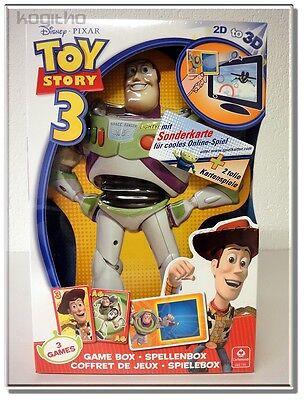 Cartamundi Disney Pixar Toy Story 3 Spielebox 3 Spiele Spielzeug Kind ab 4 Jahre