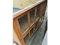 Free Double Rabbit Hutch