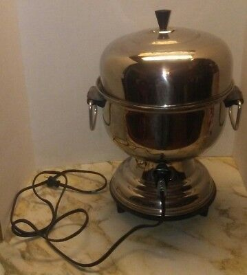 Farberware LARGE Coffee Maker Pot Urn Stainless Steel 18-55 Cups Model 30 USA