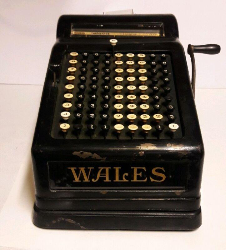 1909 Wales Adding Machine Vintage