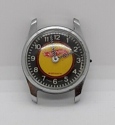 Vintage 1970 Mattel  Hot Wheels Watch Swiss ..NOT working correctly