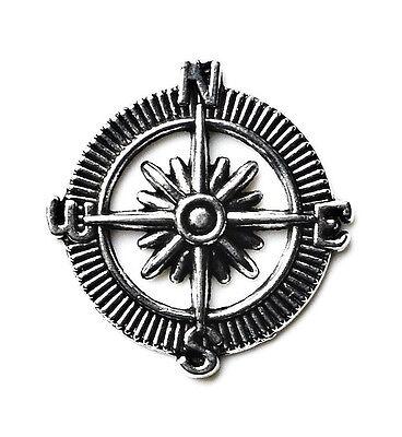 Compass Lapel Pin - Tie Tack - Gift Idea - Handmade - Gift Box