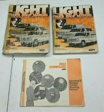 1982 FORD E-SERIES VAN SERVICE SHOP REPAIR MANUAL & WIRING ...
