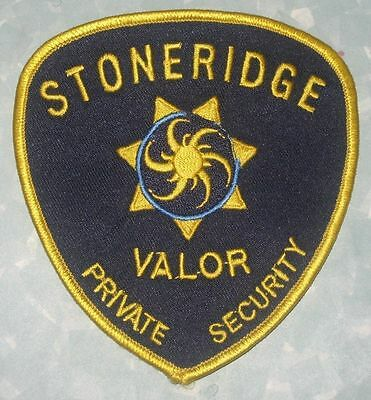 Stoneridge Valor Private Security Patch