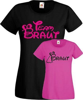 Jga T-Shirt Team Braut süßes Frauen Junggesellinnenabschied Wochenende Party