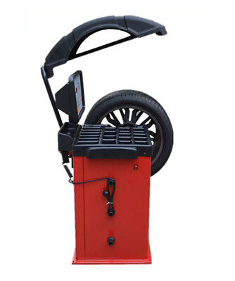 220V Motorcycle, Car and Light Truck  Wheel Balancing Machine With Hood