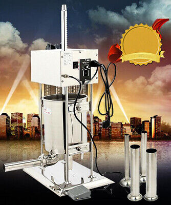 Electric Sausage Stuffers Vertical Sausage Maker With 4 Stuffing Tubes 304 Stain