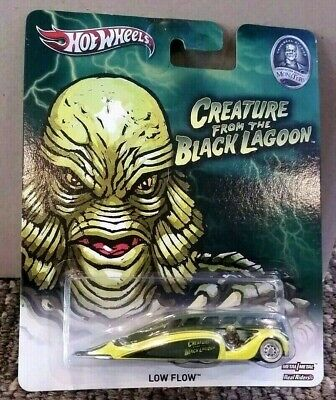 CREATURE FROM THE BLACK LAGOON - LOW FLOW - UNIVERSAL MONSTERS Hot Wheels
