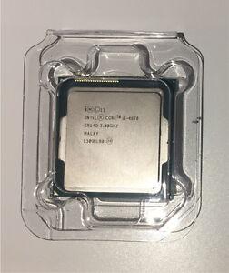 Intel i5-4670 CPU and Heatsink