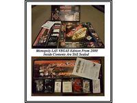2000 US Monopoly Las Vegas Collectors Edition Board Game
