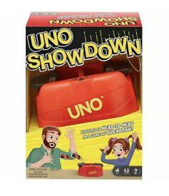 Mattel UNO Showdown Card Game NEW.