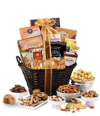 Chocolate & Sweets Thanksgiving Gourmet Gift Basket (Kosher Certified)
