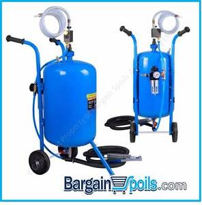 100LB Portable Soda Abrasive SandBlaster w/ Wheels North Melbourne Melbourne City Preview