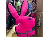 Playboy bunny cushion heads
