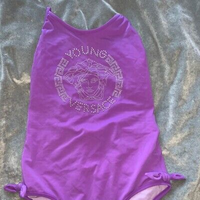 young versace swimming costume age 12 100% authentic
