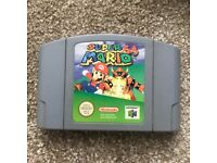 SUPER MARIO NINTENDO 64 GAME CARTRIDGE 1996