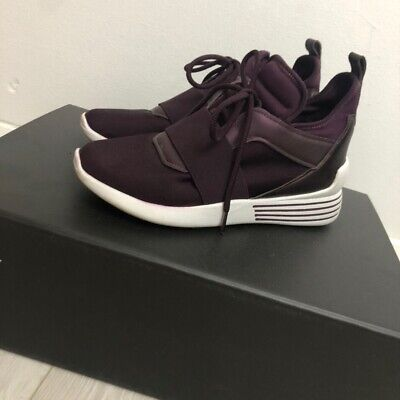Kendall + Kylie Purple Trainers High Tops Size 4