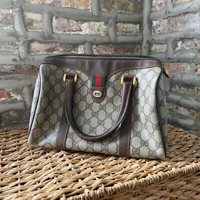 Authentic Gucci Vintage Boston Doctor Bag OS - REPOST