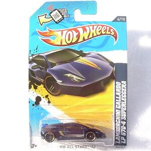 2012 Hot Wheels:  Lamborghini Gallardo LP 570-4 Superleggera. 126/247  NEW!