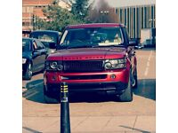 RANGE ROVER SPORTS Rare Red!! p/x Q7, X6, X5