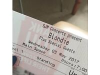 Pair of Blondie Tickets - Roundhouse, Camden 3rd May 2017