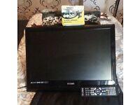 22 inch LCD/DVD TV