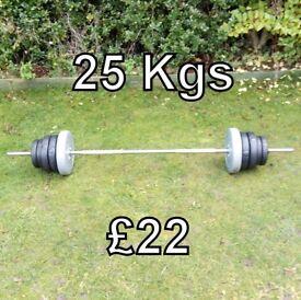 25 Kgs Barbell