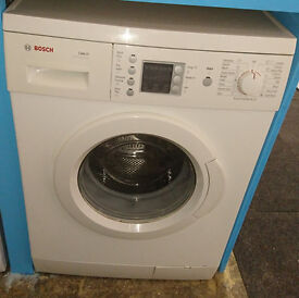 A364 white bosch 7kg 1200spin washing machine comes with warranty can be delivered or collected
