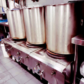 YAMATO machine, Noodle cooker, stock boilers