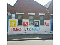 WE BUY ALL FRENCH CAR FOR SPARES OR REPAIR OR MOT FAILURE