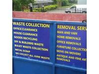 Rubbish removal Waste removal Garden waste Scrap metal Man and van skip hire