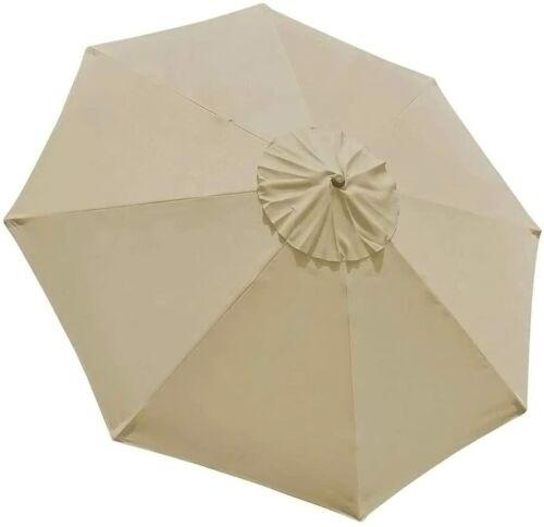 9ft Patio Umbrella Market Table Outdoor Deck Umbrella Replacement Canopy Cover