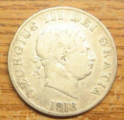 1818 Great Britain / British One-Half 1/2 Crown Take a Look