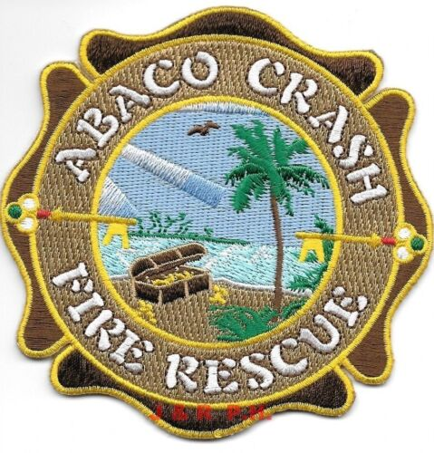 Abaco - Crash Fire Rescue, Bahamas Int