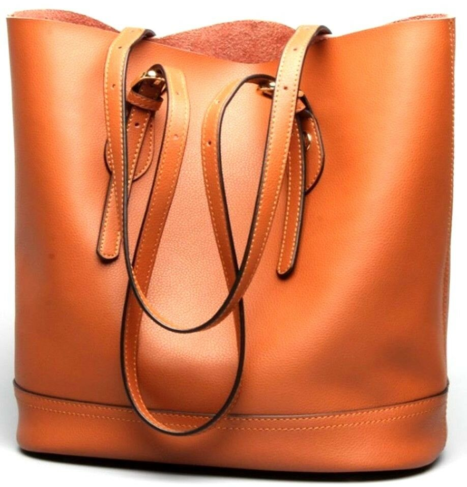 Изображение товара Fashion Women's Genuine Leather Satchel Shoulder Handbag Bag Tote bag New