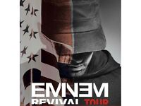 6 Eminem tickets standing front section 14th July Twickenham