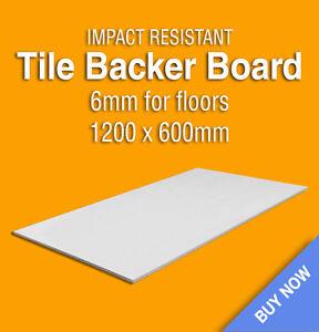 Tile Backer Board Floors Underfloor Heating 1200 X 600 X