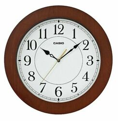 NEW Casio IQ-133-5 Home Office School Wall Quartz Clocks Silent Smooth Hand