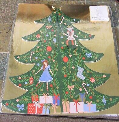 Rifle Paper Co. Christmas Tree Advent Calendar NIP