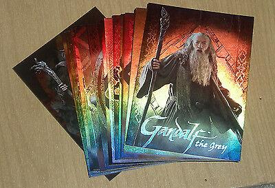 2014 Cryptozoic Hobbit Journey Character Bio 19-card chase insert set CB-1-CB-19
