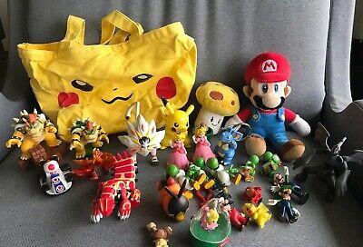 Lot Of Nintendo Pokemon Figures And Misc Figures
