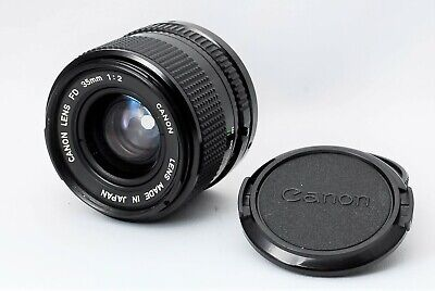 Canon New FD 35mm F/2 NFD [As-Is] MF Wide Angle Prime Lens From Japan