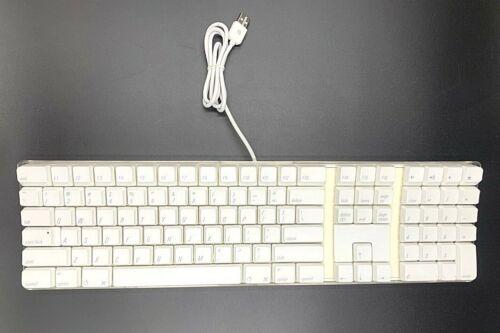 100% Genuine Apple Pro Stabilized Wired Keyboard| A1048 💎Good Condition💎