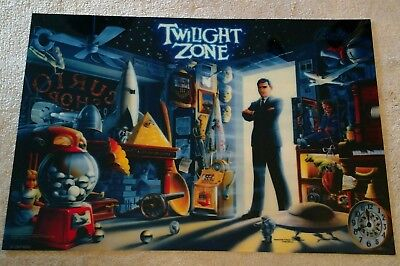 BALLY Twilight Zone Pinball Machine Translite
