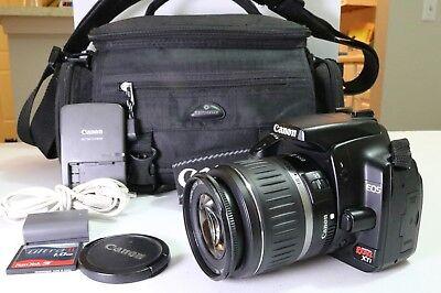 Canon EOS Digital Rebel XTi Digital SLR Camera w CANON 18-55 KIT LENS-FREE SHIPP