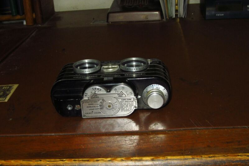 View master stereo camera and case very early production