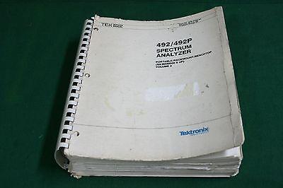Tektronix 492-492p Service Manual Volume 2